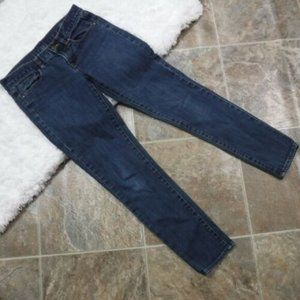 J Crew Toothpick Skinny Ankle Jeans Size 26